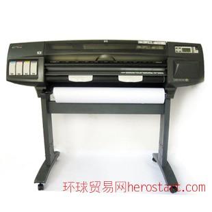 二手惠普A0大幅面高速绘图仪 CAD工程广告彩色喷墨绘图仪