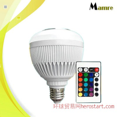 家居智能LED创意蓝牙音乐灯泡音箱 led球泡 无线蓝牙音响灯泡礼品