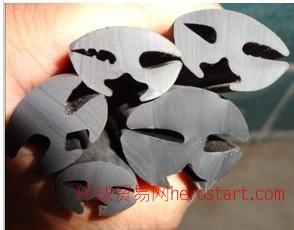 橡胶密封条橡塑三口胶条挡风玻璃密封条安装玻璃胶条三口密封条