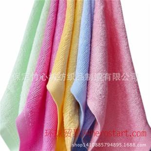 竹纤维小方巾 25克吸水性强 不掉毛优质纯色多色方形洗碗布  淘