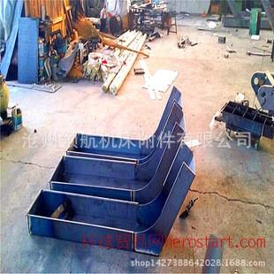 各种数控机床钢板防护罩 高速滑轨防护罩 机床导轨防护罩