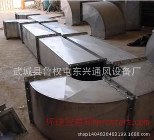 东兴通风设备我厂生产铁皮管道质优价廉经久耐用