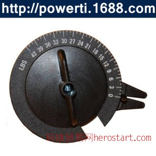 AEF奥亿手动测压器-羽毛球拍拍压测量器-决定是否换新线