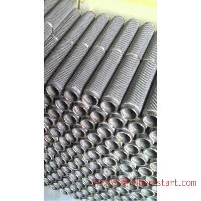 提供 高品质不锈钢折叠过滤芯加工  工业精密高温折叠过滤芯