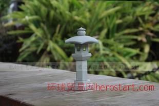 惠安手工雕刻石雕工艺品礼品日式灯笼可定制logo 可来样加工