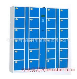 福州科阳24门存包柜电子存包柜超市存包柜条码存包柜保密柜