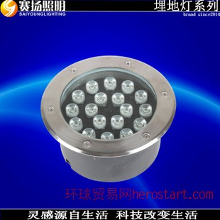 定制供应地埋灯 LED户外照明 大功率LED地埋灯 防漏电腐蚀地埋灯
