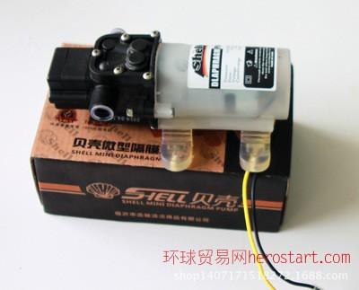 高压洗车泵,车载洗车器,洗车器配件微型隔膜水泵