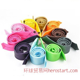 韩版小领带 现货 成年