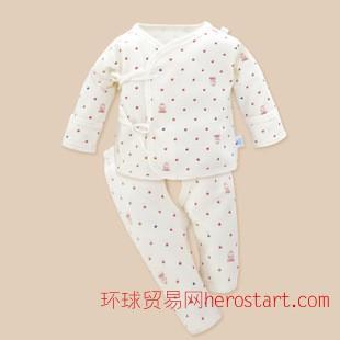 亞霖王子 新生嬰兒和服卡通純棉內衣內褲套裝童內衣童裝代理