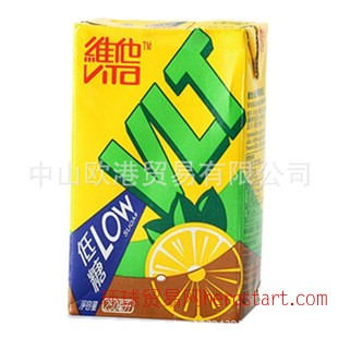 香港进口饮料 VITA维他锡兰柠檬茶 250ml*24盒/组 进口零食