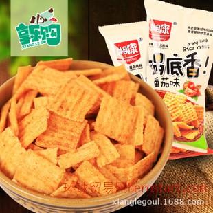 湘康锅底香 番茄味锅巴108g 湖南休闲零食品 膨化食品 24包一件