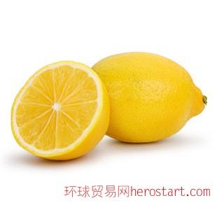 新鲜水果清新柠檬 安全绿色 好吃多汁柠檬