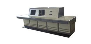 监控安防操作台冷轧钢板木制装饰