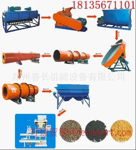 有机肥生产设备-复合肥全套生产线设备