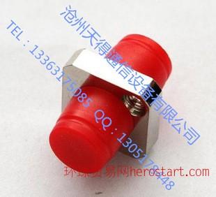 FC光纤耦合器法兰盘连接器光纤适配器电信级