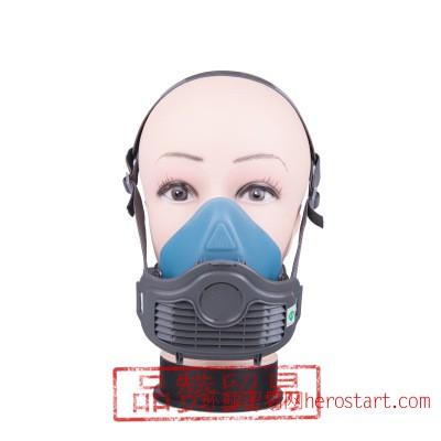 思创硅胶防尘口罩 煤矿专用防尘肺防护面具工业粉尘打磨带过滤棉