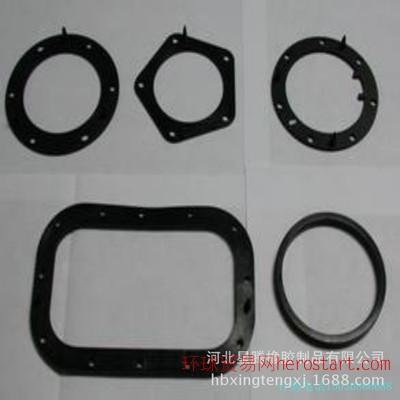 加工定制耐高温耐油耐磨橡胶垫圈,大型硫化机异型橡胶杂品