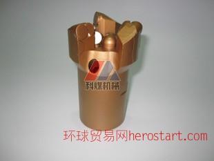爆批加强型55#65三翼不取芯金刚石复合片PDC钻头,矿山施工设备