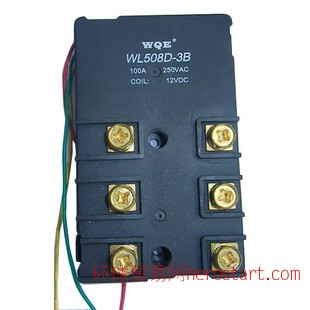 继电器WL508D 三相磁保持继电器