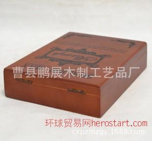 曹县厂家热销 精美木制保健品包装盒 新款木质冬虫夏草礼盒