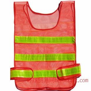 反光背心 安全背心 反光晶格 反光背心厂家 交通安全服装06