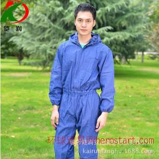 牛仔服、劳保工作服、连体工装、职业男装临沂服装JD054