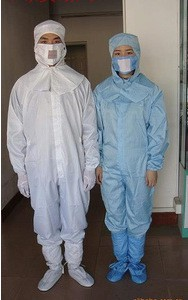 防静电服 防静电连体工作服 连体静电服劳保服 防尘服