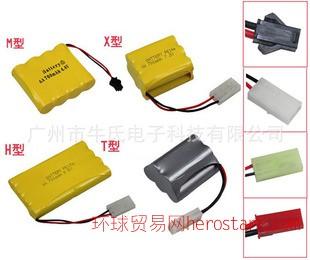 NI-CD AA 2.4V3.6V 4.8V 6V 7.2V 9.6V  1200MAH 玩具电池组