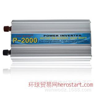 P-2000家用车载太阳能逆变器地摊照明家用电器户外施工手电钻
