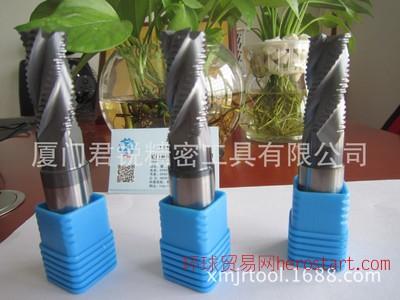 钨钢粗皮铣刀 4刃波刃型铣刀  厂家直销定制螺纹铣刀