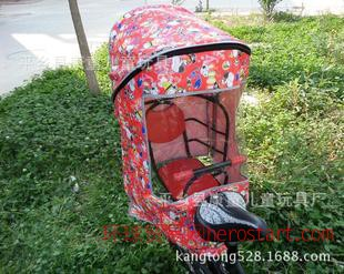 新款加大加宽儿童座椅面雨棚 宝宝座椅雨棚 婴儿座椅雨棚