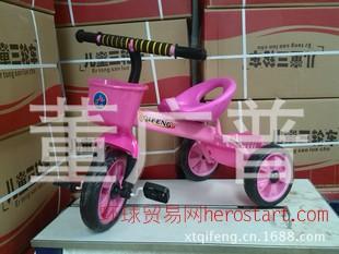 新款儿童三轮车 小孩玩具车 三轮车人力脚踏车 儿童小单车
