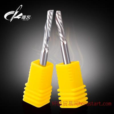 进口单刃钨钢左旋铣刀 DIAOKE/雕客