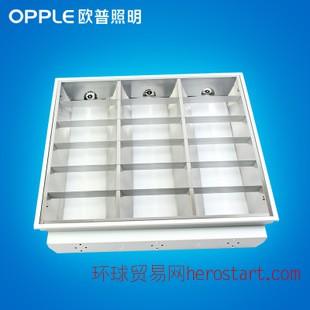 欧普照明 工程办公室 嵌入式格栅灯盘 T8方灯盘MDP11318 600*600
