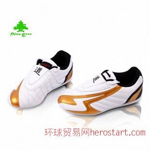 韩国PINETREE松树跆拳道道鞋 白色 成人儿童男女 一件代发