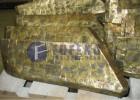 泰卡THZ2250搅拌机合金刀片、叶片