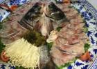景德镇艺然陶瓷直销花瓷海鲜大瓷盘陶瓷大盘子定做