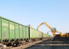 QLYS火车卸煤机珲春铁路口岸对从俄罗斯进口的煤炭进行换装