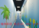河南信阳光山墙体彩绘