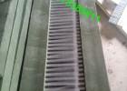 砖机毛刷 砖机条刷 免烧砖机毛刷条 注塑型尼龙条刷