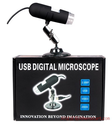 手持USB显微镜线路板检测放大镜PCB检测放大镜