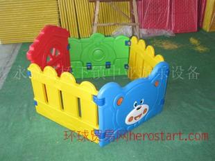 儿童塑料海洋游戏球池 幼儿园游乐设施围栏可与滑梯组合