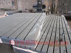 铸铁T型槽平台规格,T型槽平板定做,首选华博