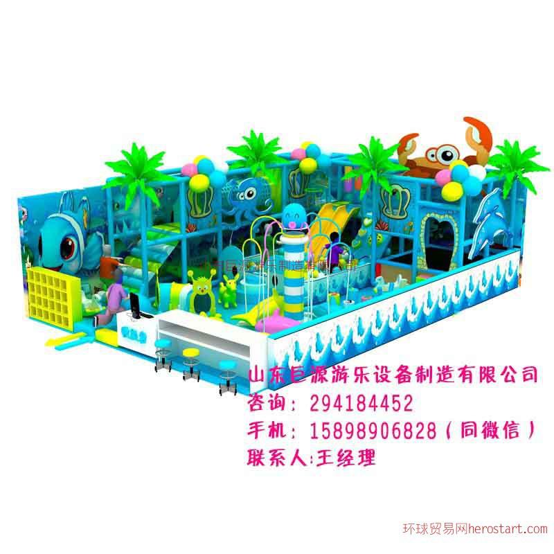 山东淘气堡儿童乐园设施幼儿园玩具 淘气堡加盟