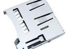 外焊自弹TF卡座、外焊式加工定制卡座、全塑卡座