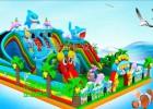 小型儿童充气式城堡大滑梯2017新款