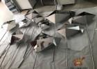 不锈钢鱼雕塑、抽象几何不锈钢鱼雕塑多种造型拉丝与镜面效果PK