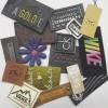 厂家专业产销皮标上牌吊牌绣花标印印热压高周产品