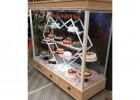 河北蛋糕模型柜厂家